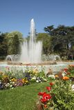 Park. A fountain in a park of Toulouse, France Royalty Free Stock Photo
