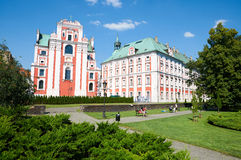 Park Frederic Chopin. Poznan Royalty Free Stock Photography