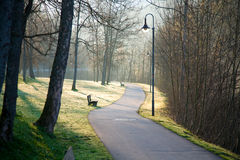 Park in Fuessen Stock Photography