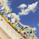 Park Güell in Barcelona Stock Images