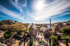 Park Güell Royalty Free Stock Photo