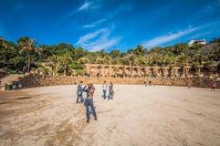 Park Güell Royaltyfria Bilder