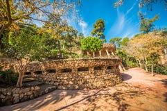 Park Güell Royaltyfria Foton