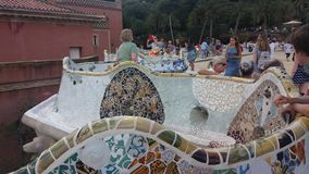 Park Güell Stock Photography