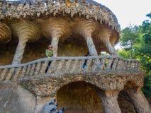 Park Güell Viaduct Stock Image