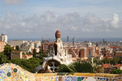 Barcelona, Park Guell Royalty Free Stock Image