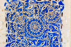 Park Güell Tile Art Royalty Free Stock Images