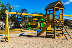 Park game Royalty Free Stock Image