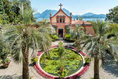 Park garden of Island Madre - Isola Madre, Italy Royalty Free Stock Images