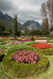 Park Garden Mountain View, Italy Stock Photos