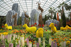 Park Gardens by the Bay in Singapore Royalty Free Stock Image
