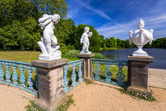 The park and gardens of Charlottenburg in Berlin Royalty Free Stock Photos