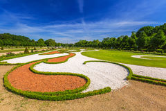 The park and gardens of Charlottenburg in Berlin Stock Images
