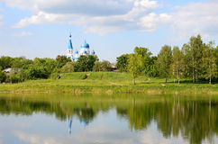 Park in Gatchina, Russia Royalty Free Stock Image