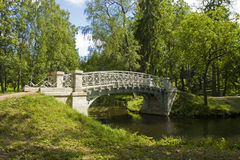 Park in Gatchina, Russia Stock Images