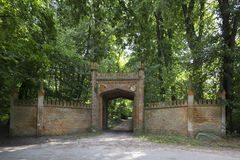 Park Gate Stock Images