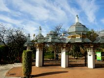 Park Gates in Fuengirola on the Costa del Sol in Spain Stock Image