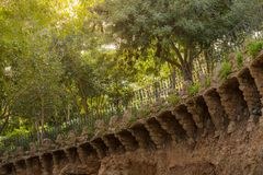 In park Gaudi Stock Photography