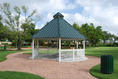 A park Gazebo Stock Images