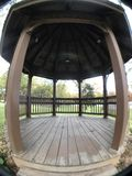 Park Gazebo during fall. Stock Images