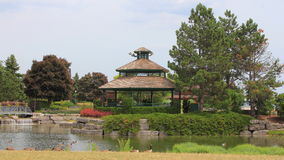 Park Gazebo Landscape Royalty Free Stock Photography