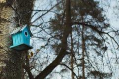 Park genanntes Belousov - ein Vogelhaus Lizenzfreie Stockbilder