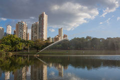 Park in Goiania Royalty-vrije Stock Afbeeldingen