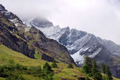 Park of Gran Paradiso, Royalty Free Stock Photography