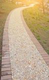 Park Gravel Trail Royalty Free Stock Image