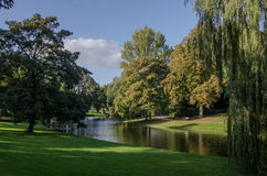 Park in Groningen, Netherlands Stock Photo
