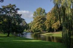 Park in Groningen, Netherlands Stock Photo