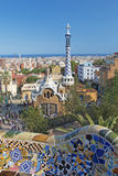 PARK GUEL in Barcelona Stock Photo