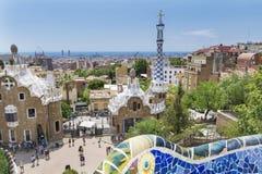 Park Guel,Barcelona,Spain Stock Photos