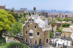 Park Guel,Barcelona,Spain Royalty Free Stock Image