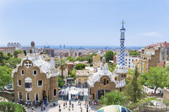 Park Guel,Barcelona,Spain Royalty Free Stock Photos