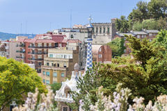 Park Guel,Barcelona,Spain Stock Photography