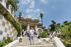 Park Guel,Barcelona,Spain Stock Photo