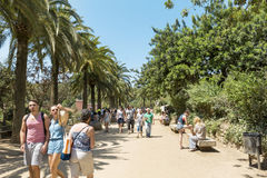 Park Guel,Barcelona,Spain Stock Image