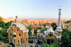 Park Guell. Royalty Free Stock Image