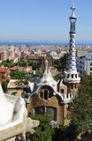 Park Guell. In Barcelona (Spain Royalty Free Stock Images