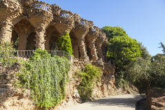 Park Guell Royalty-vrije Stock Afbeelding