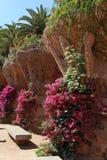 Park Guell by Antoni Gaudi, Barcelona, Spain Stock Photos