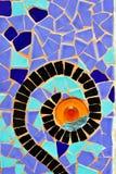Park Guell Antoni Gaudi Barcelona Spanje Stock Foto's