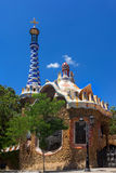 Park Guell by Antonio Gaudi in Barcelona, Spain. Catalonia stock photos