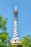 Park Guell by Antonio Gaudi Royalty Free Stock Image