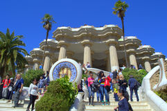 Park Guell attraction, Barcelona Stock Photo