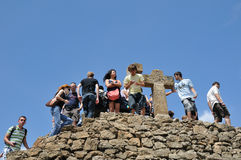 Park Guell, Barcelona Stock Photos