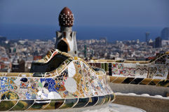 Park Guell Barcelona Royalty Free Stock Photo