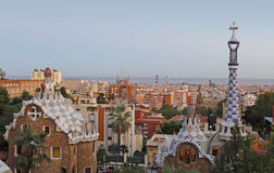 Park Guell Barcelona Royalty Free Stock Image