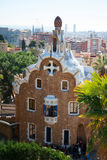 Park Guell in Barcelona Royalty-vrije Stock Foto
